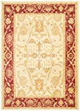 Cheap Safavieh Heirloom Collection HLM1666-1140 Traditional Vintage Cream and Red Area Rug (4′ x 5'7″)