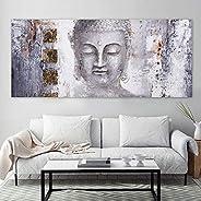 NG Novedades.gonzaga Cuadro Buda Elegante Moderno Minimalista Grande En Canvas montado en un Bastidor de Mader