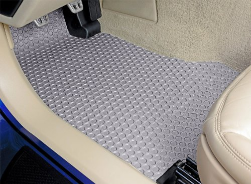 (Lloyd Mats All Weather Rubber Floor Mats Front and Rear Set Compatiable for Lexus GS300 - With All Wheel Drive - Light Grey (2006 06))