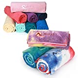 Sport And Swim Towel by Aurorae Aqua for Beach, Pool, & Travel, Microfiber, Super Absorbent, Extra Large, Lightweight (American Pride)