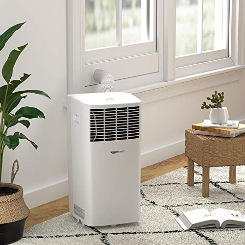 AmazonBasics Portable Air Conditioner with Remote - Cools 300 Square Feet, 8,000 BTU