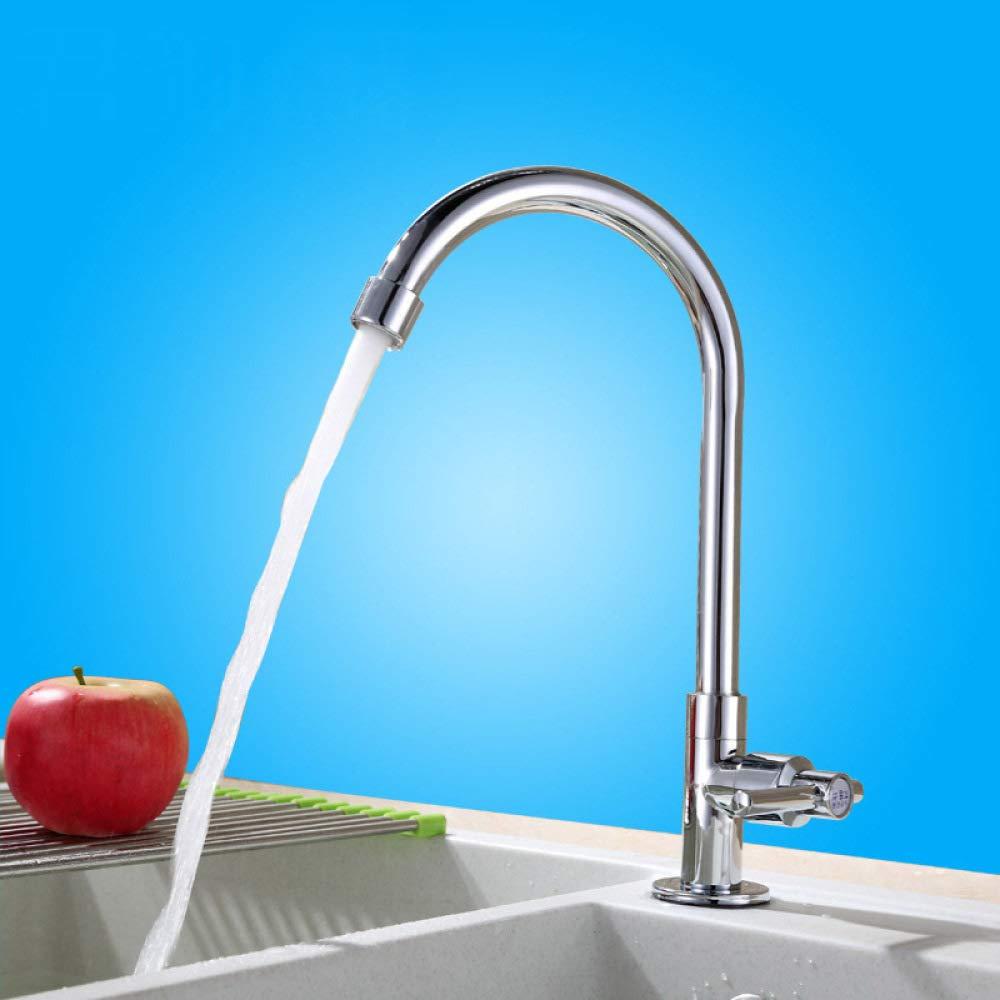 PZXY Wasserhahn Wasserhahn Grünikale einzigen Kaltwasserhahn Kaltwasserhahn Kaltwasserhahn Küchenspüle gemäße Becken einzigen kalten Wasserhahn bee8c8