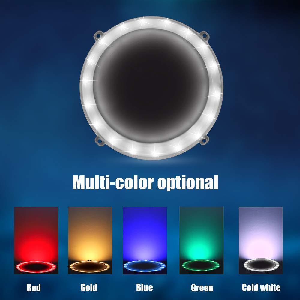 Blinngo Cornhole LED Board Lights, LED Cornhole Lights Meet Regulation Cornhole Boards(4 feet x 2 feet), Waterproof Cornhole LED Lights (Two Set)-White by Blinngo