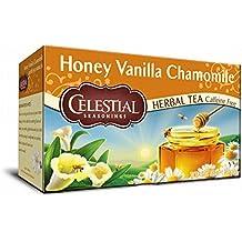 Celestial Seasonings Herb Tea Honey Vanilla Chamomile -- 20 Tea Bags
