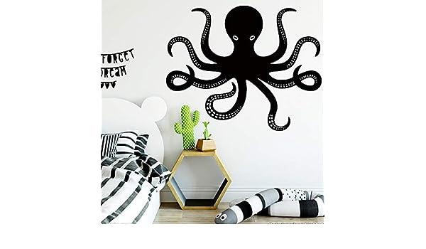 jiuyaomai Animal Octopus Wall Art Decal Pegatinas de Pared ...