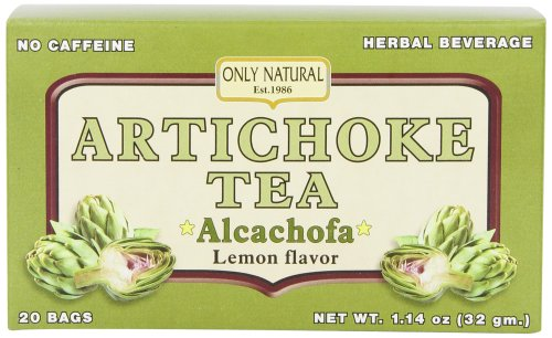 Seulement diurétique naturel Artichaut thé, 20 comte