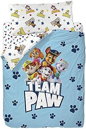 Nickelodeon Paw Patrol Group Funda Nórdica de 3 Piezas para Cama 90, Cotton, Multicolor