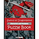 Sword of Dragonblood: Characters and Creatures  Puzzle Book