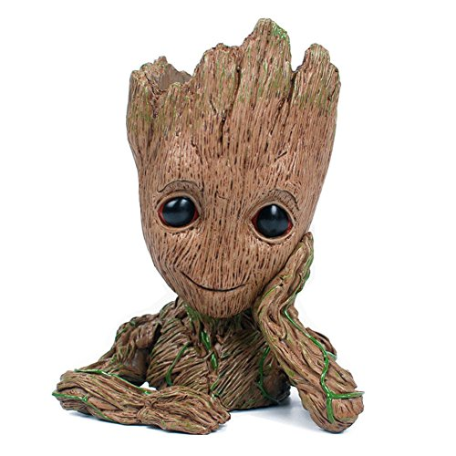 Decor Flower Pot Guardians of The Galaxy vol 2 Baby Groot Figure Flowerpot Toy