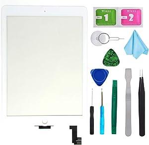 White New Digitizer Repair Kit for iPad Air 2 9.7