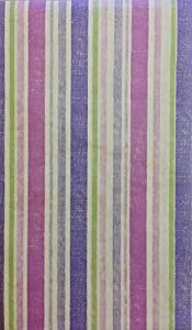 Amazon Com Easter Stripes Purple Pink And Green Vinyl