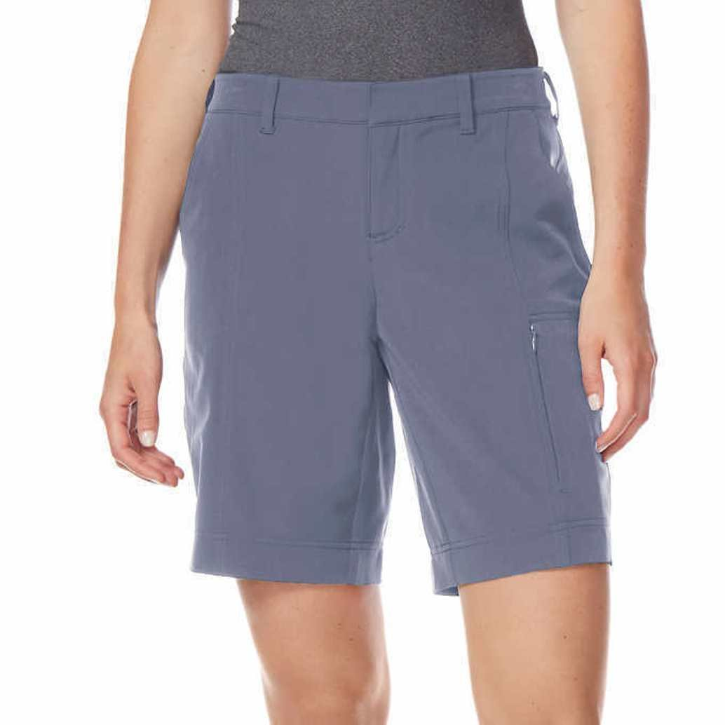 LADIES STRETCH SHORT,Bluestone Grey,M(8/10)
