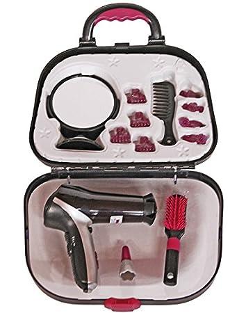 Theo Klein-5872 Maletin De Peluqueria con Secador De Pelo Braun Satin Hair 7