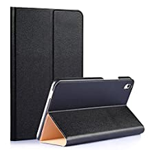 Tsmine Huawei MediaPad T2 8 Pro Origami Slim Case - Folding Premium PU Leather Case Magnetic Cover Stand For Huawei MediaPad T2 8 Pro 8-Inch Tablet, Black