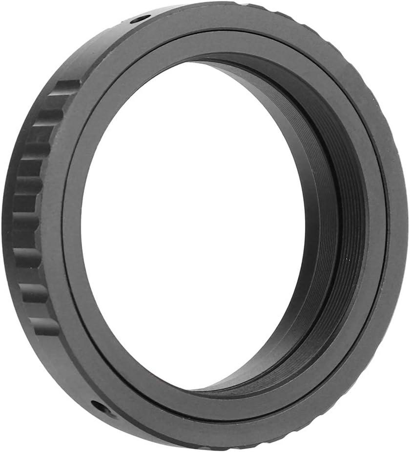 for Canon DSLR Black Aluminum Alloy Lens Adapter Rings for M480.75 Mount Telescope Eyepiece Lens for Canon for Nikon DSLR