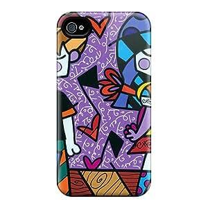 SHiNiNG RmXrB8897qbNyb Case Cover Iphone 4/4s Protective Case Britto