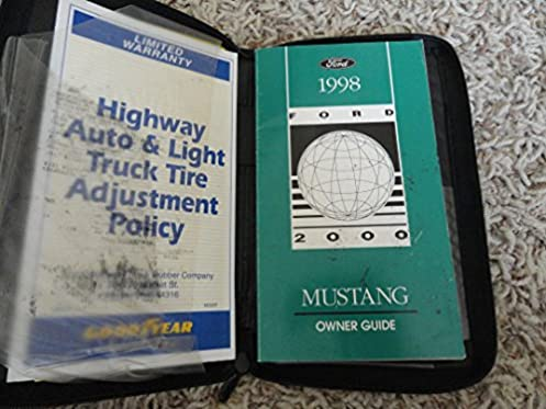 1998 ford mustang owners manual ford amazon com books rh amazon com 1998 ford mustang owner's manual 1998 ford mustang owner's manual