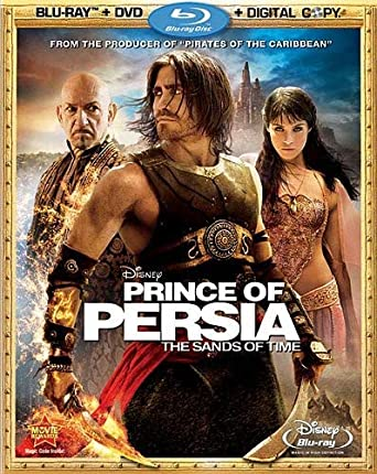 Amazon Com Prince Of Persia The Sands Of Time Blu Ray Dvd Combo
