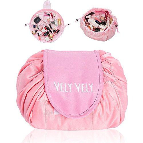 BAIYA Fashion Cosmetic Bag Large Capacity Lazy Makeup Toilet