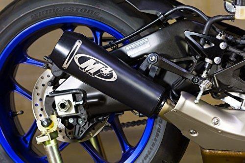 M4 15-18 Yamaha YZF-R1 GP2 Slip-On Exhaust (Black - Exhaust Systems R1