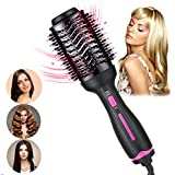 Hair Dryer Brush-Hot Air Brush, Professional Hair Dryer & Volumizer 3 in 1 Upgrade Anti-scald Negative Ionic Technology Hair