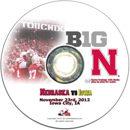 2012 Nebraska Cornhuskers vs. Iowa Hawkeyes (Nebraska Cornhuskers Dvd)