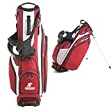 Austin Peay Callaway Hyper Lite 4 Red Stand Bag 'AP Austin Peay Governors - Official Athletic Logo'
