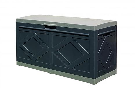 Box In Plastica Per Giardino.Ideapiu Baule In Resina Box Baule Con Ruote In Plastica