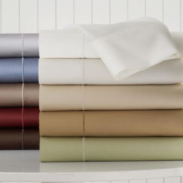 Royal Velvet® 400tc WrinkleGuard™ Sheet Set - JCPenney