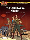 Front cover for the book The Gondwana Shrine by Yves Sente