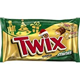 Twix Caramel Minis Chocolate Candy for the Holidays, 11.5 Ounce Bag