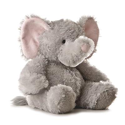 Aurora Plush 12 inches Elephant Tubbie Wubbie (Light Grey): Toys & Games
