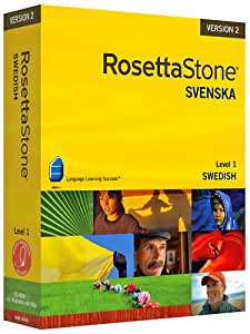 Rosetta Stone V2: Swedish, Level 1