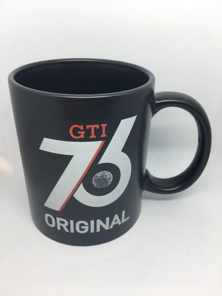 Unbekannt D'origine Volkswagen Gti 40 ans anniversaire Tasse é dition limité e Mug Noir mat Sonstige ZCP902677