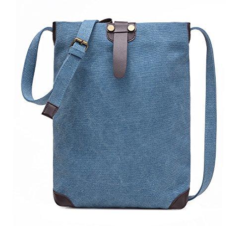 Jollychic - Bolso al hombro para hombre talla única Azul