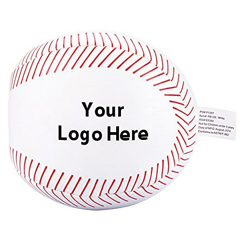 Baseball Pillow Ball - 150 Quantity - $2.75 Each - PROMOTIONAL PRODUCT / BULK / BRANDED with YOUR LOGO / CUSTOMIZED by Sunrise Identity