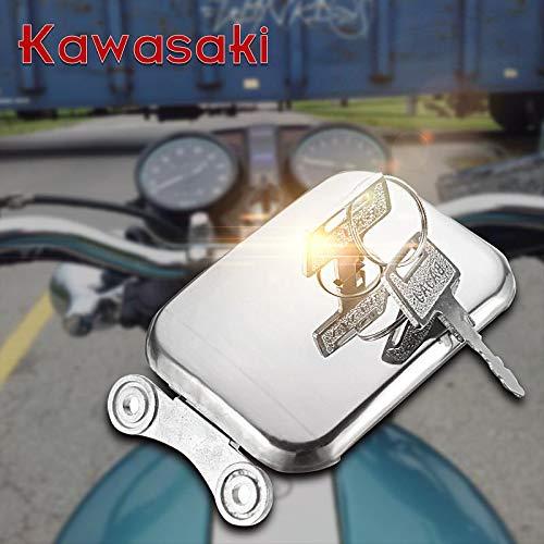 Gavita-Star - 1pcs Gas Fuel Cap For Kawasaki for LTD CSR KZ250 KZ305 KZ440 KZ550 KZ750 KZ650 KZ1000 1977 1978 1979 1980 1981 1982 1983 1984