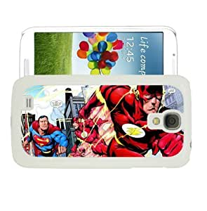 COVER FOR SAMSUNG GALXY S4 i9500 SUPERMAN DC FLASH by ruishername