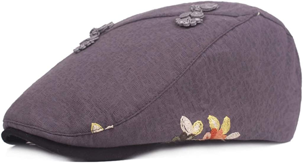 Women Newsboy Cap Cotton...