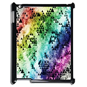Chic Eden Wolf Hipster Triangle Unique Durable Hard Plastic Case Cover fits for iPad 2/3/4