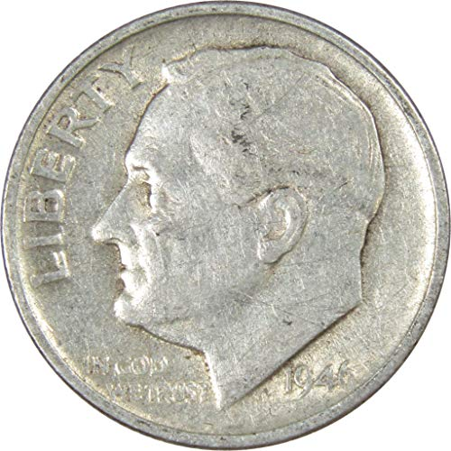 1946-S 10c Roosevelt Silver Dime Average Circulated
