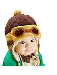 Norbi Winter Baby Kids Girls Boys Warm Cap Hat Beanie Pilot Aviator Crochet Earflap