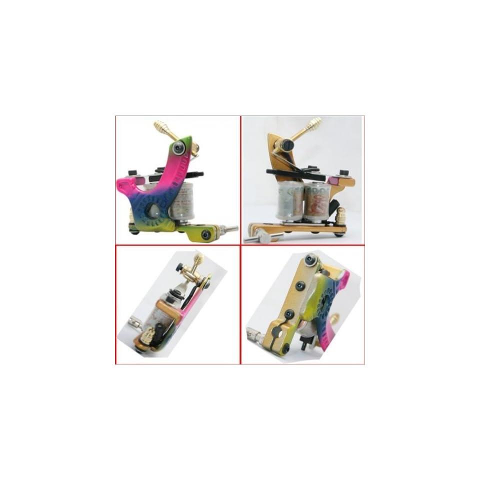 TOP color Handmade Cast Iron Tattoo Machine Gun Liner e010624