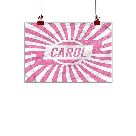 Amazon Com Sunset Glow Wall Painting Prints Carol Kids Name
