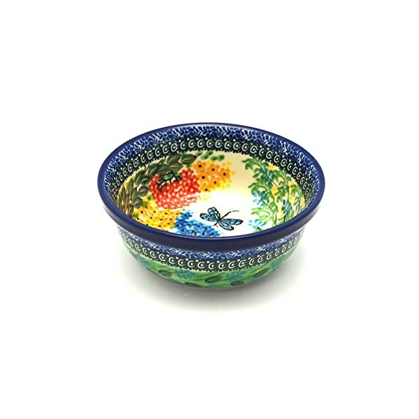 Polish Pottery Bowl – Soup and Salad – Unikat Signature – U4612