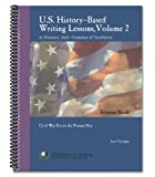 U. S. History-based Writing Lessons, Lori Verstegen, 0980100577