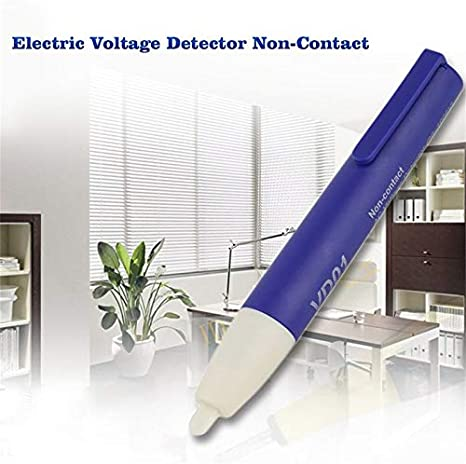 frYukiko Digital Electric Voltage Detector Non-Contact 90~1000V AC Tester Test Meter Pen Pocket Size Voltage Detector