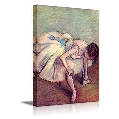 Dancer Adjusting Her Slipper by Edgar Degas, Premium Product, Pretty Technique