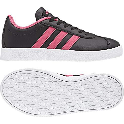 ftwbla Court Adidas Deporte Negro Unisex 0 rosrea 000 Zapatillas 2 negbas Vl De K Niños 4wq57
