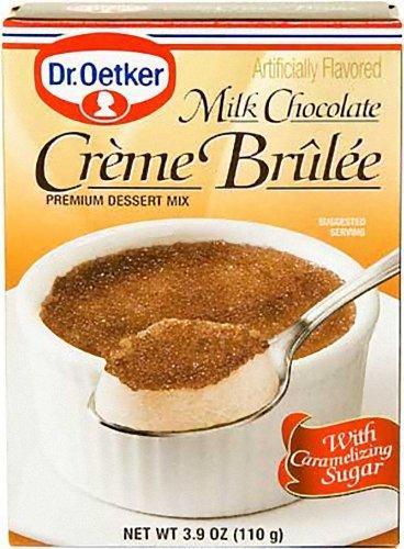 Dr. Oetker Creme Brulee Mix, 3.7-Ounce (Pack of 6) by Dr. Oetker